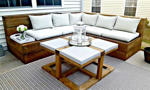 The Manns Outdoor Sofa