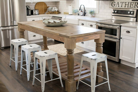The Blue Ridge Kitchen Island