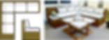 Stunning custom built farmhouse dining tables, banquettes, bedroom furniture, office furniture, outdoor furniture, living room sets, kitchen islands Atlanta GA