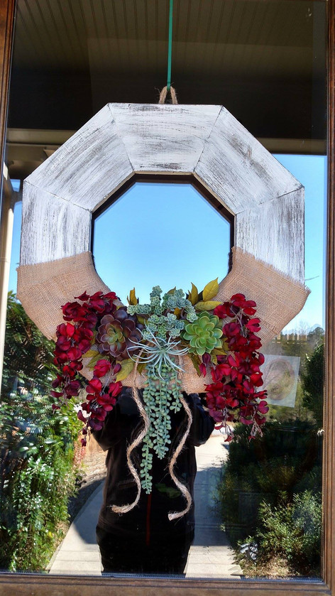 The Wooden Wreath