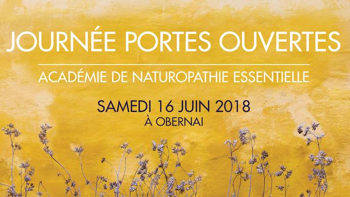 Journée portes ouvertes à l'ANAE, l'école de naturopathie du Dr Caroff à Obernai en Alsace