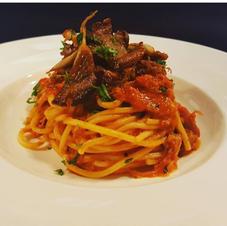 Italian Puttanesca Spaghetti