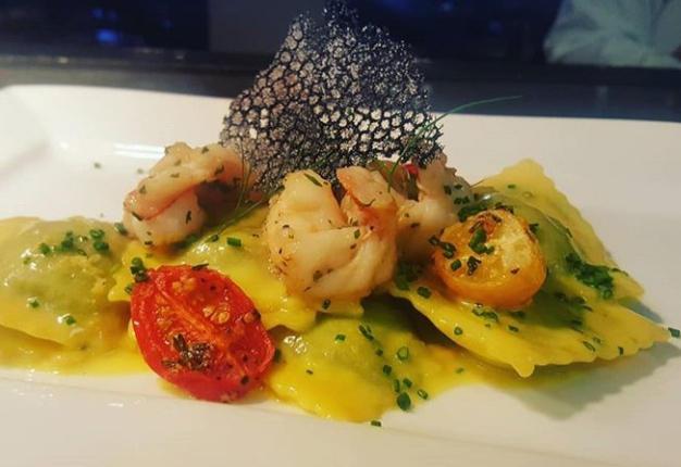 Seafood Ravoli