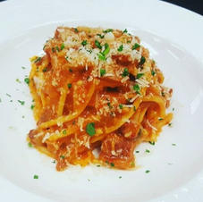 Duck Ragú with Homemade Spaghetti