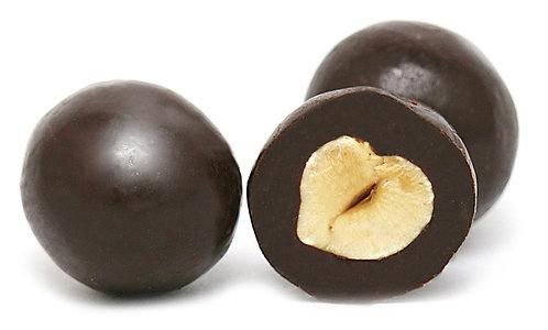 Dark Coated Hazelnuts
