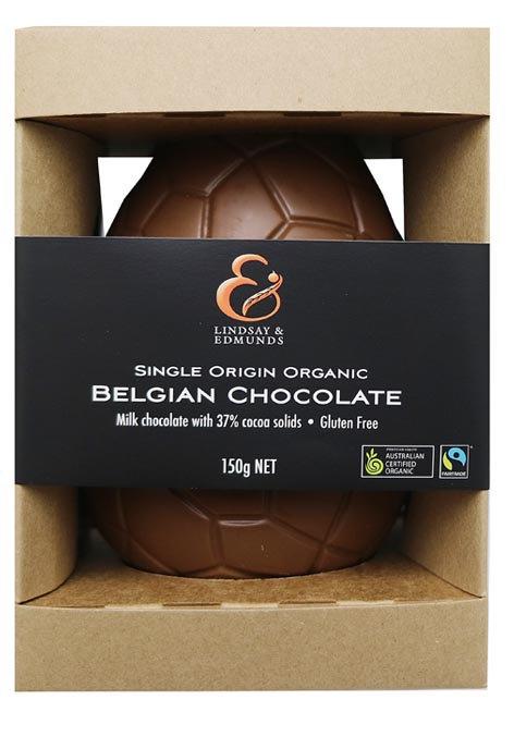 Belgian Organic Milk Chocolate Easter Egg