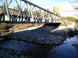 MNR Bailey bridge Timmins