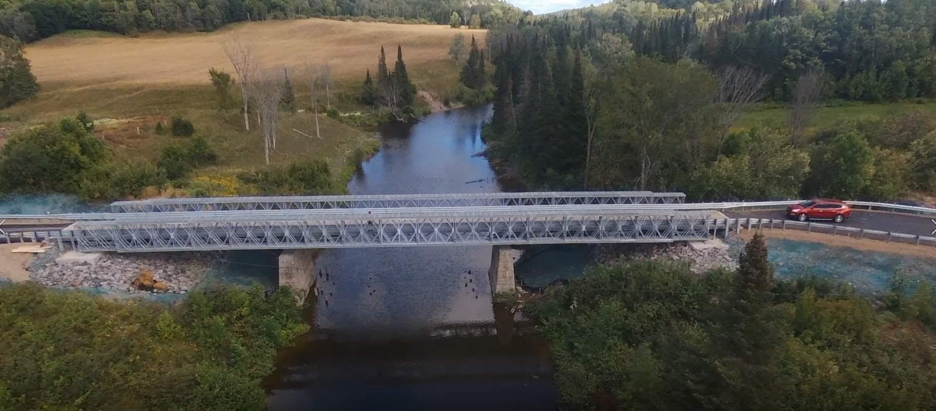 Center Line Bridge, Bruce Mines