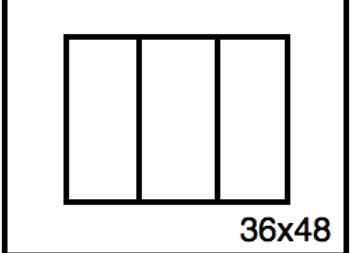 Rectangular Benchwork – 36 x 48