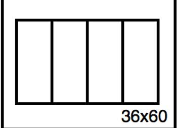 Rectangular Benchwork – 36 x 60