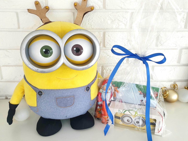 Zestaw dla dzieci prezentuje Minionek Bob