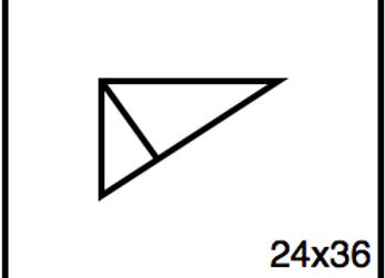 Triangular Benchwork – 24 x 36