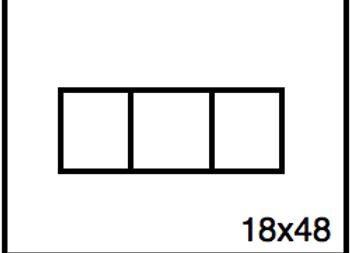 Rectangular Benchwork – 18 x 48