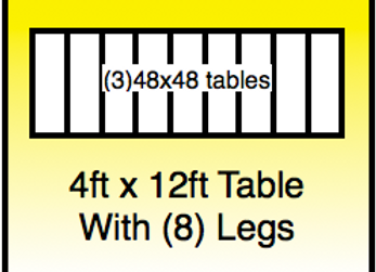 4x12 table