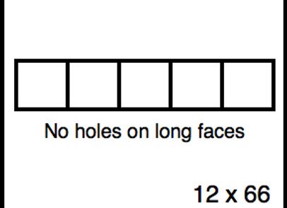 Rectangular Benchwork – 12 x 66