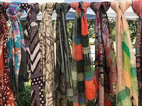 SPINDLE scarves