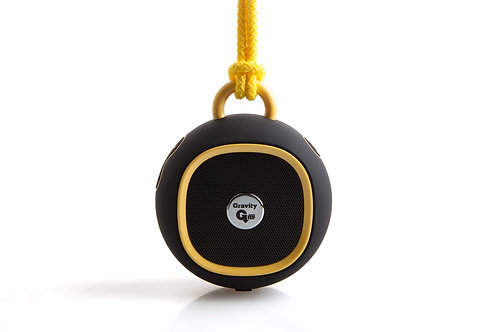 Gravity Bluetooth Speaker (Black/yellow) is