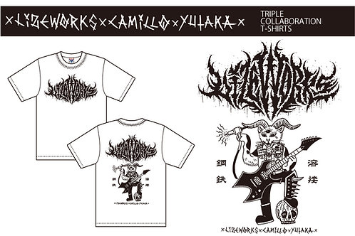 TRIPLE COLLABORATION T-SHIRT 送料込