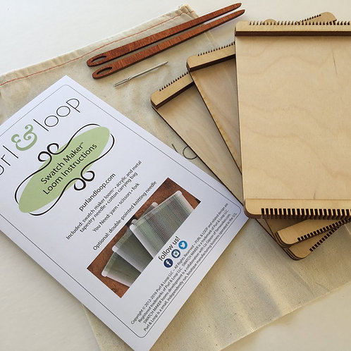 Purl and Loop Swatch Maker Set of 3