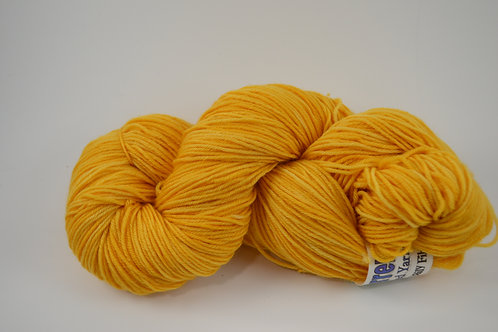 orange Superwash Merino