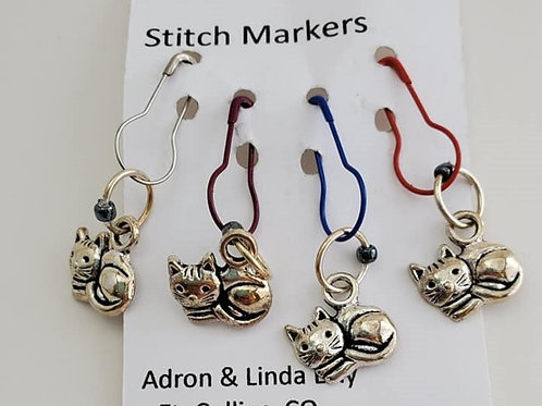 Cats Local Lilly stitch markers
