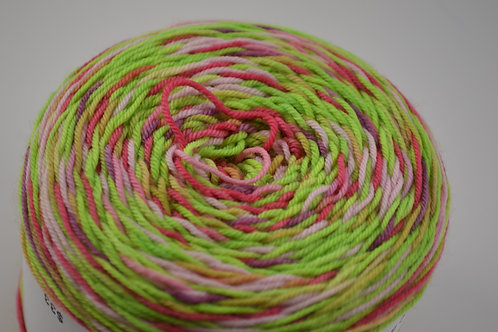 Zombie Braaaaaains Self Striping Sock Yarn