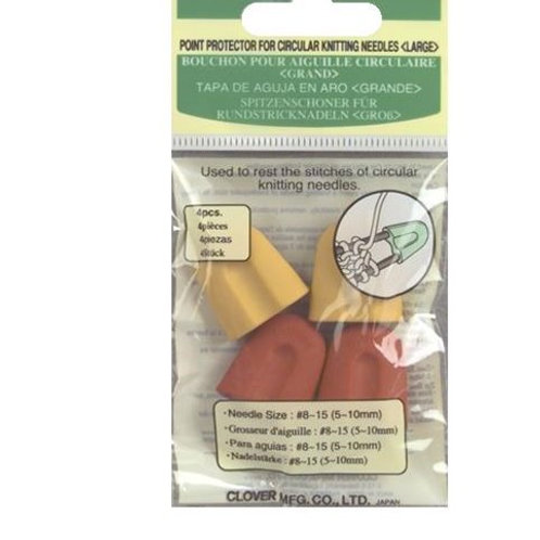 Point ProtectorsCircular Needles Large