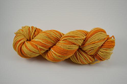 Orange tones BFL Silk DK