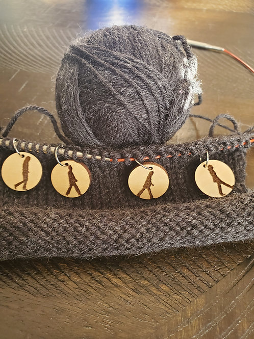 These 4 are FAB! Stitch Markers