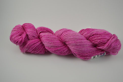 Hot Pink Alpaca Linen Silk