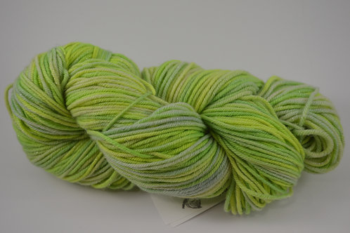 Lime Green Sparkle DK