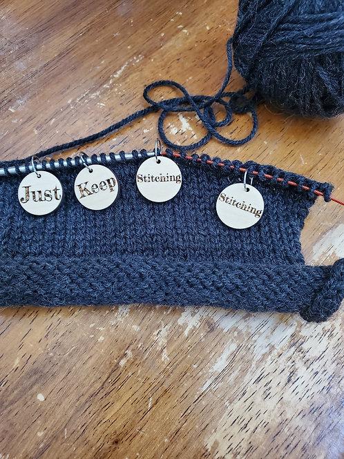Just Keep Stitching Stitching: Stitch Markers