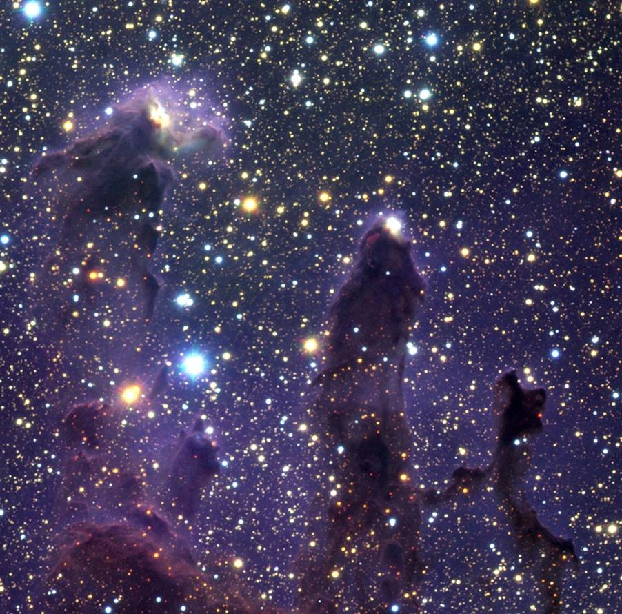 ESO NIR Pillars of Creation
