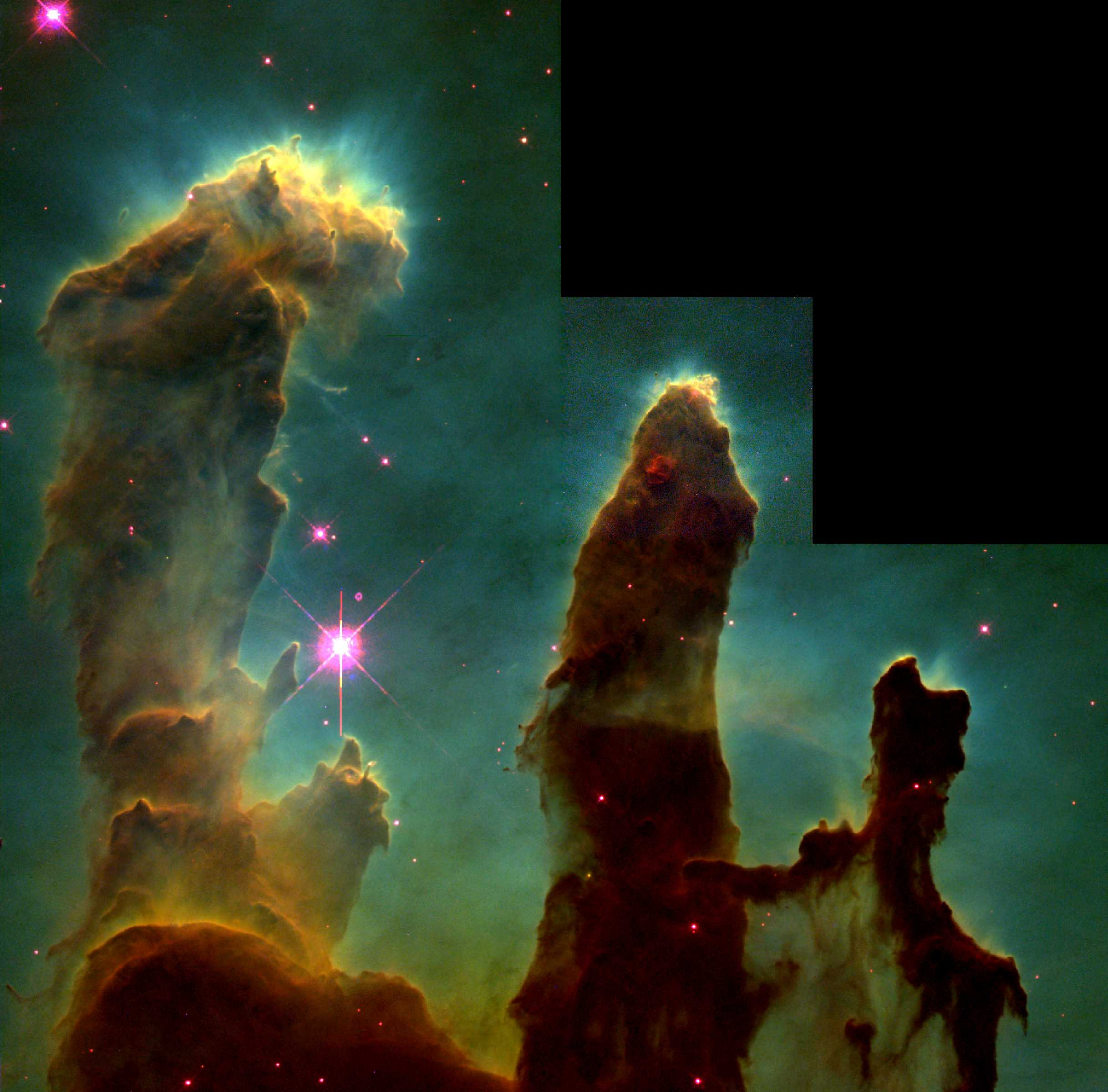 Hubble's Pillars of Creation