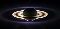 Saturn in Eclipse