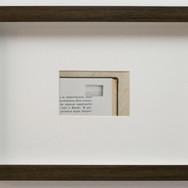 JIMSON VILELA Falsa aparência | 2013 Técnica: Impressão jato de tinta sobre papel algodão montada em moldura caixa com passe-partout 24 x 32 x 3,5 cm 5 + PA (cópia nº 5)
