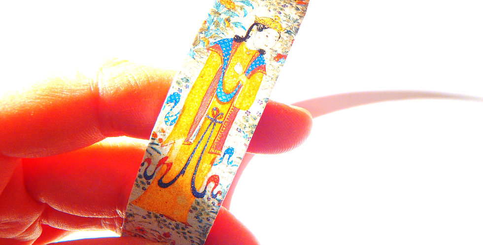 Bracelet NUITS D'ORIENT, base cartonnée