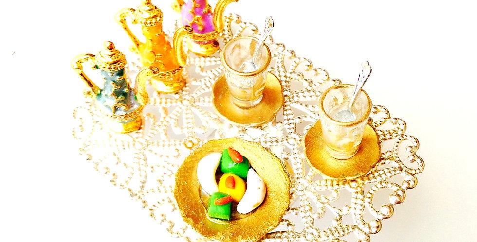 Bague UN THÉ AVEC LE SULTAN, thé oriental