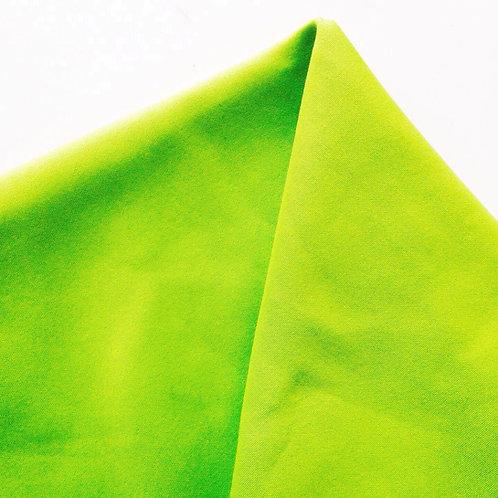 Tissu stretch synthétique jaune fluo ou vert 85 x 50