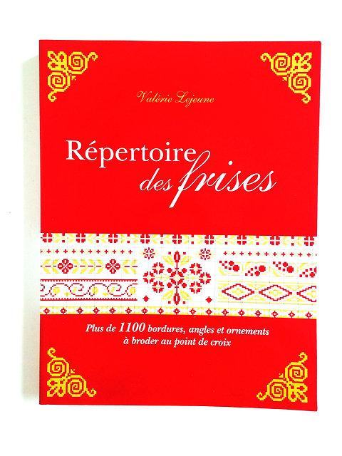 Beau Livre Répertoire Des Frises Broderie Point De Croix Auteur Valérie Lejeune