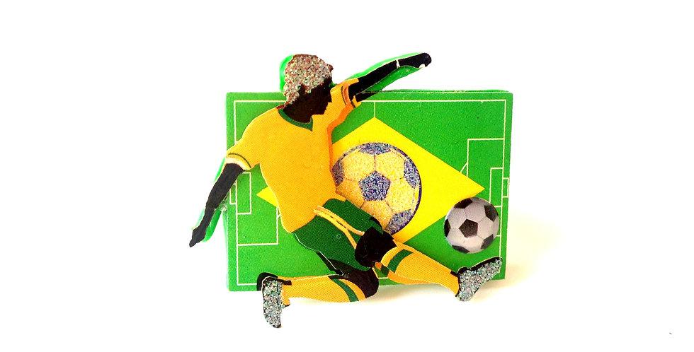 Bague LE FUCHEBOL, football, Brésil