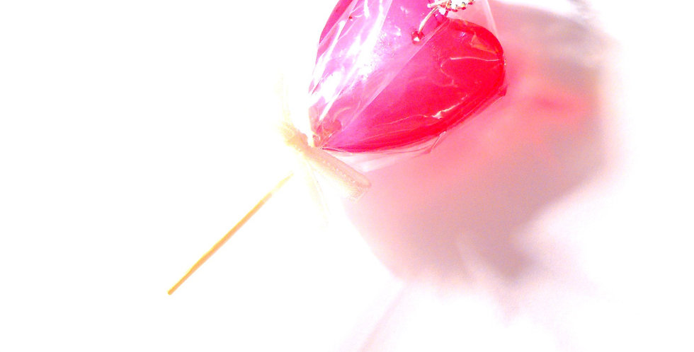 Sautoir LA SUCETTE, intermède musical, coeur