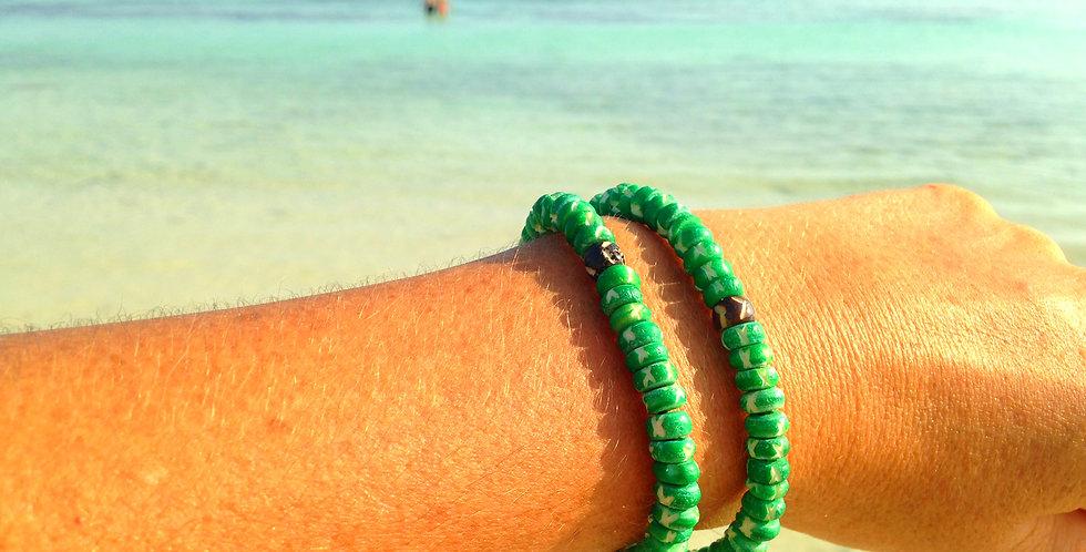 Bracelet, ou collier VERY, bijou deux en un