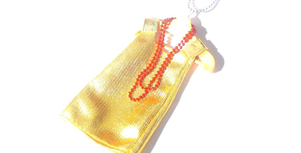 Sautoir LA ROBETTE GOLD, collier miniature
