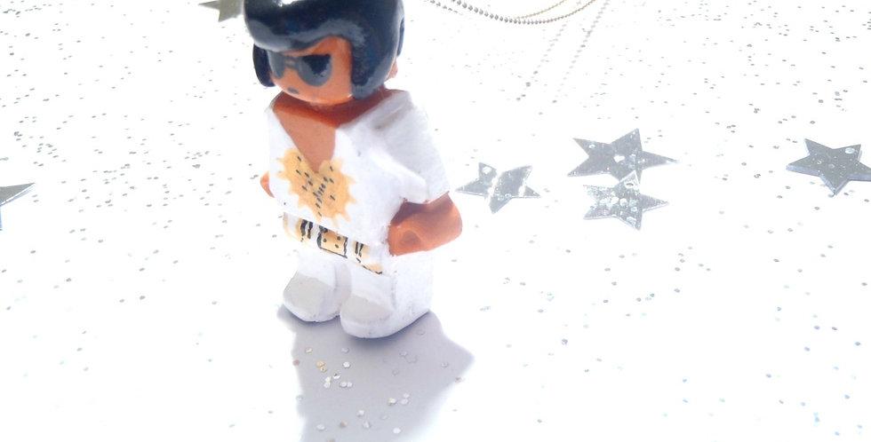 Sautoir PROLÉGOMÈNE, Elvis, bonhomme miniature