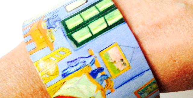 Bracelet LA CHAMBRE, DANS LA MAISON JAUNE, Van Gogh
