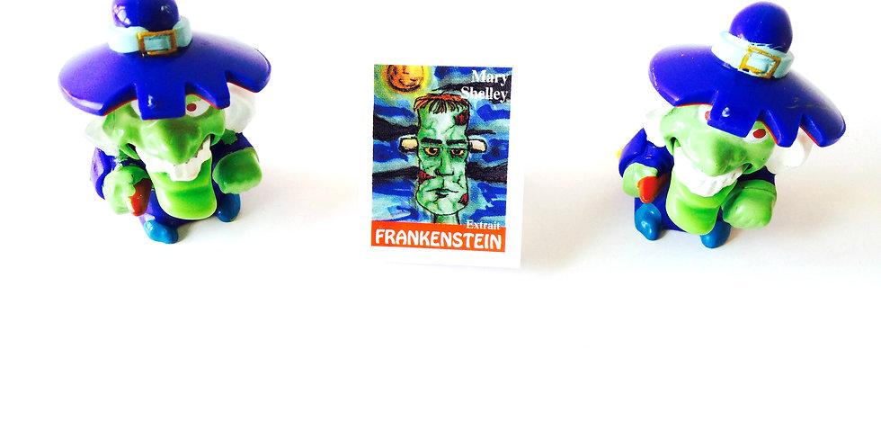 Bague mini-livre FRANKENSTEIN, ajustable