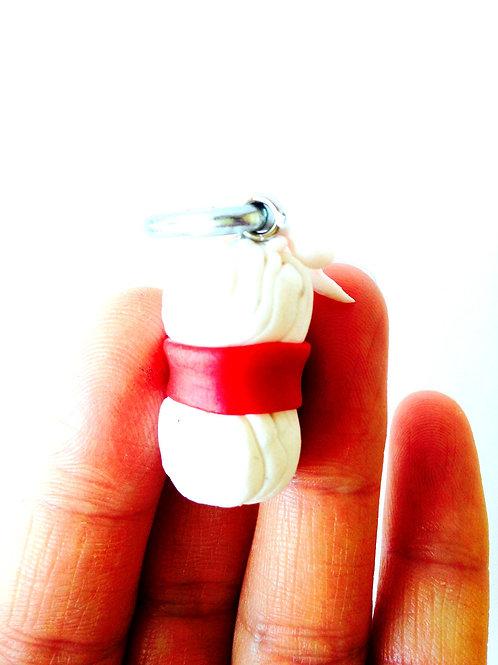Pelote en pâte polymère, pour bijou, porte-clé, etc