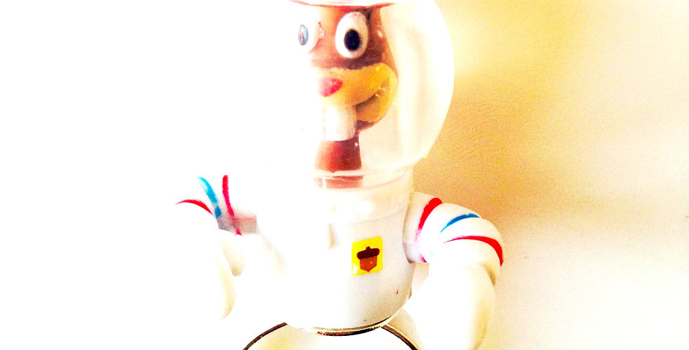 Bague LE GUGUSSNAUTE, cosmonaute, ajustable