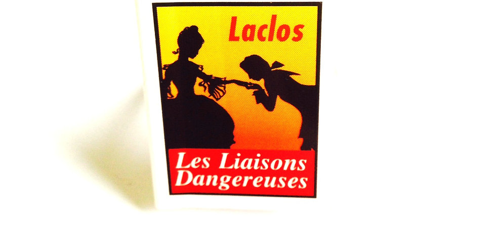 Bague mini livre LES LIAISONS DANGEREUSES
